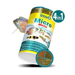 Tetra - Tetra Micro Menü 4in1 (Crisps-Pellets-Sticks-Granules) 65g/100 ml