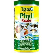 Tetra - Tetra Phyll Flakes Vegetable (Bitkisel Pul Yem) 1 Lt