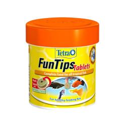 Tetra - Tetra FunTips Tablets Balık Yemi 30g/75 Tablet