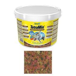 Tetra - Tetramin Flakes Pul Balık Yemi 10 L Kova-2100 gr