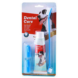 Little Friends - Toothbrush Köpek Diş Fırçası ve Diş Macunu Seti