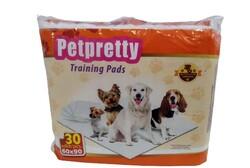 Pet Pretty - Training Köpek Eğitim Çiş Pedi Naturel 60x90 30 lu