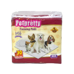Pet Pretty - Training Pads-Köpek Eğitim Çiş Pedi Lavantalı 60x90 30 lu
