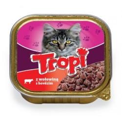 Royalist - Tropi Yetişkin Kediler İçin Biftekli Pate 100 gr 10 lu
