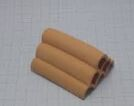 Liya - Uzun Boru Altılı Yarım Karides Yuvası 6x2cm