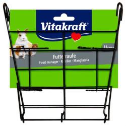 Vitakraft - Vitakraft Kemirgenler için Metal Salata Rafı 17x3x19 cm