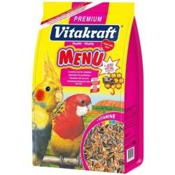 Vitakraft - Vitakraft Premium Menu Paraket Yemi 1000g/5 li