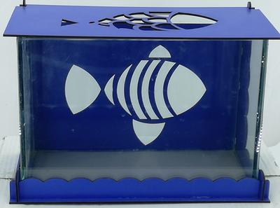 White Balance Balıklı Akvaryum 33x16,5x22 cm
