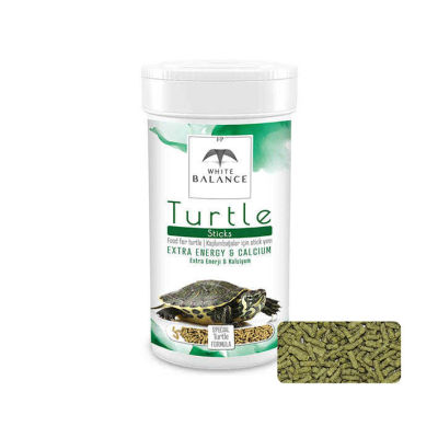 White Balance Turtle Sticks(Kaplumbağa Yemi)100 ml