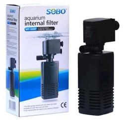 Sobo - Sobo WP-1000F Akvaryum İç Filtre 650 L/H