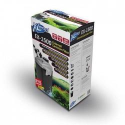 XLPro - XLPRO EX-1500 Dış Filtre 1500 L/H (Dolu)