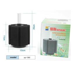 Xinyou - XY-380 Biyolojik Süngerli Pipo Filtre