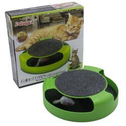 Fatih-Pet - Yabei Kedi Eğlence Oyuncağı Fareli
