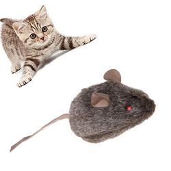 Fatih-Pet - YN-M605 Sesli Işıklı Fare Kedi Oyuncağı