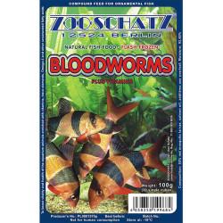 ZOOSCHATZ - Zooschatz Bloodworms - Dondurulmuş Kan Kurdu 100g